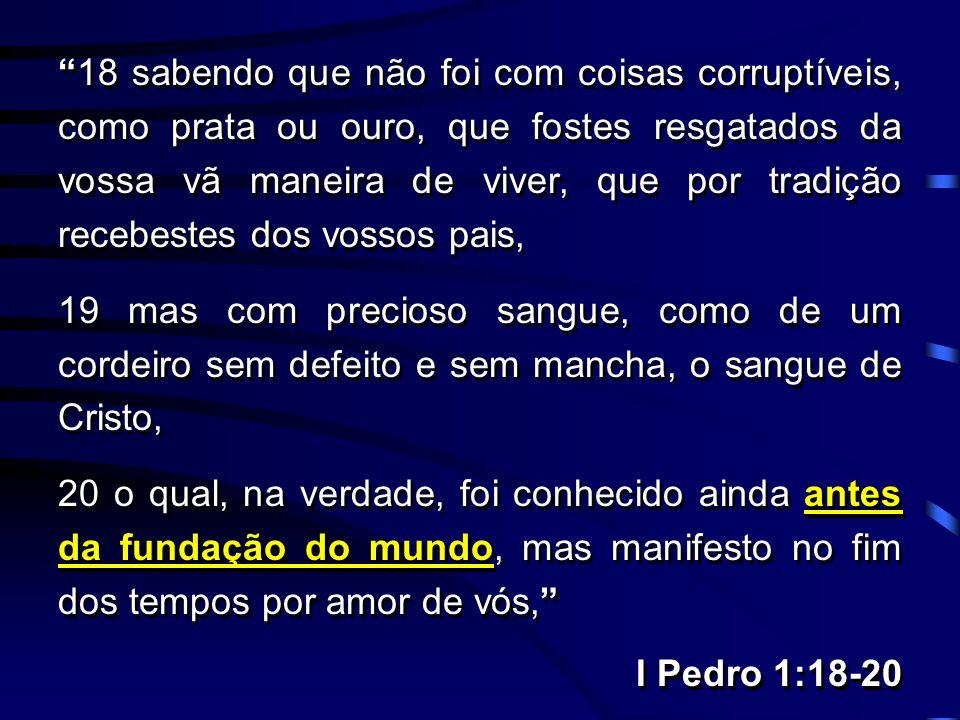O Anti-Cristo é aquele que nega o Pai e o Filho. Resposta