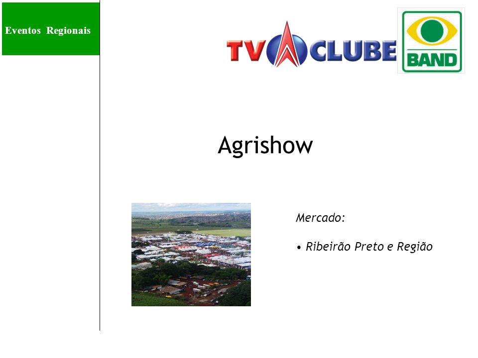 Eve Agrishow Mercado: Ribeirão Preto e Região Eventos Regionais