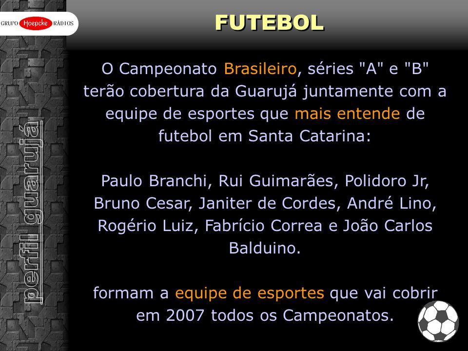 O Campeonato Brasileiro, séries