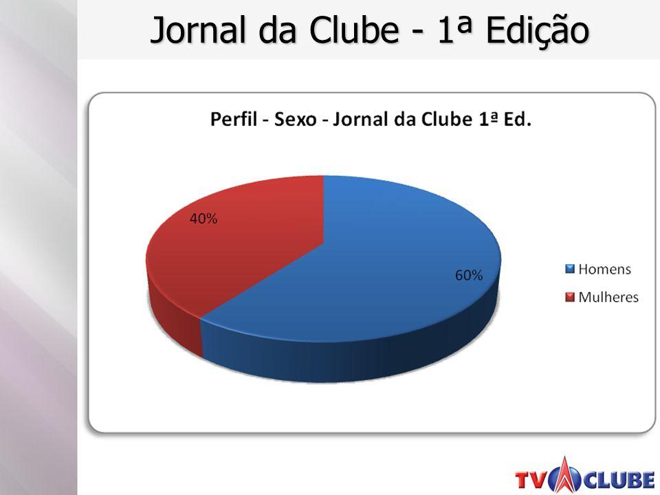 Jornal da Clube - 1ª Edição