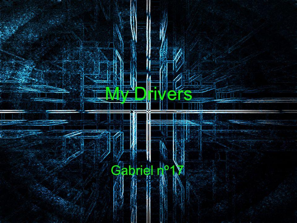 My Drivers Gabriel nº17