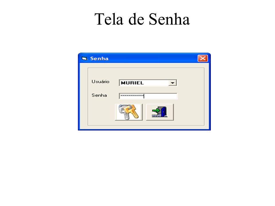 Tela de Senha