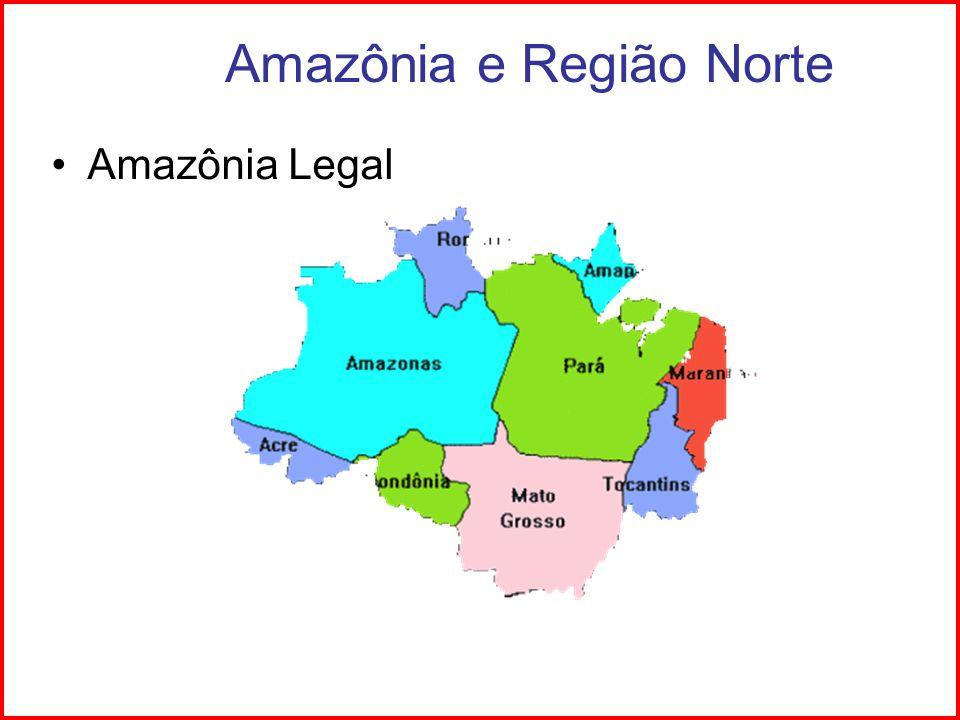 Região Norte - Hidrografia Bacia Amazônica Afluentes da margem esquerda do Planalto das Guianas Afluentes da margem direita Planalto Central.