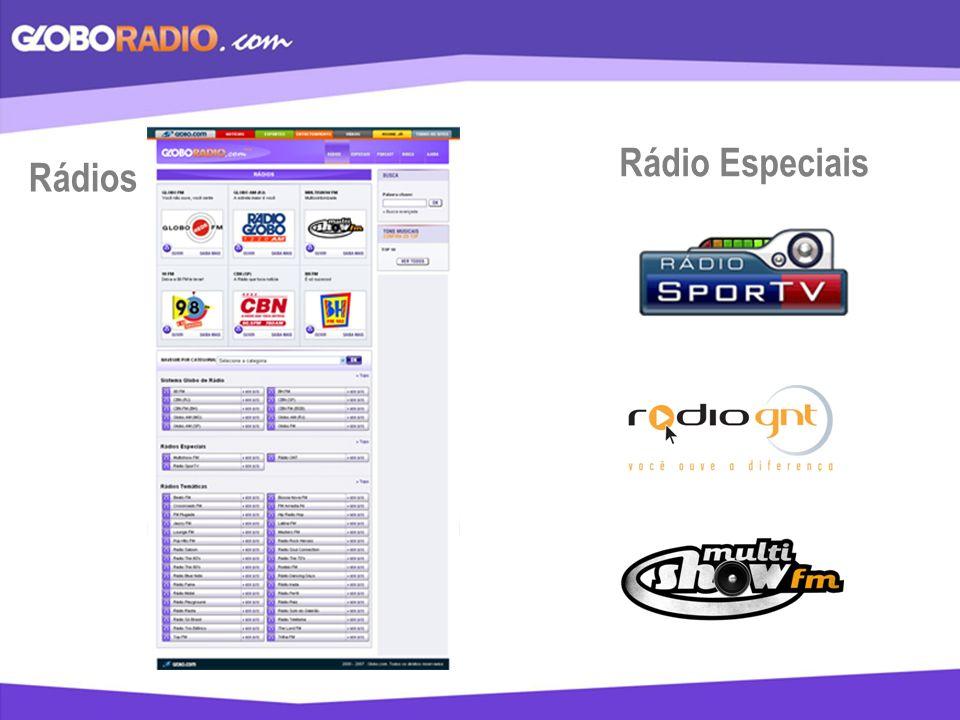 Rádios Rádio Especiais