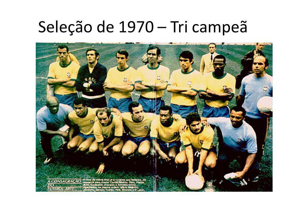 Seleção de 1970 – Tri campeã