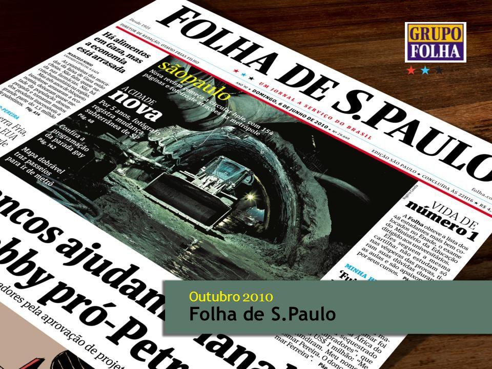 Outubro 2010 Folha de S.Paulo