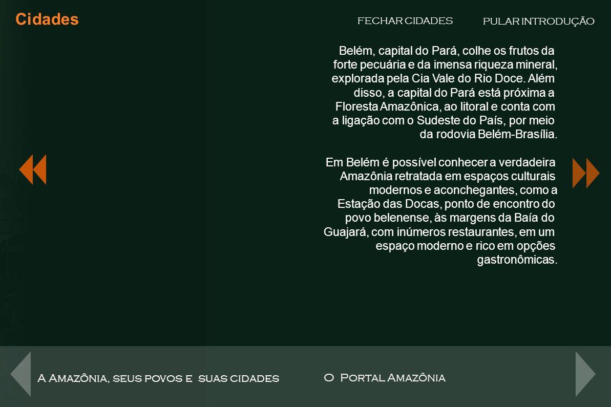Porto Velho Cidades FECHAR CIDADES A moderna história de Porto Velho começa com a descoberta de cassiterita (minério de estanho) nos velhos seringais no final dos anos 50, e de ouro no rio Madeira.