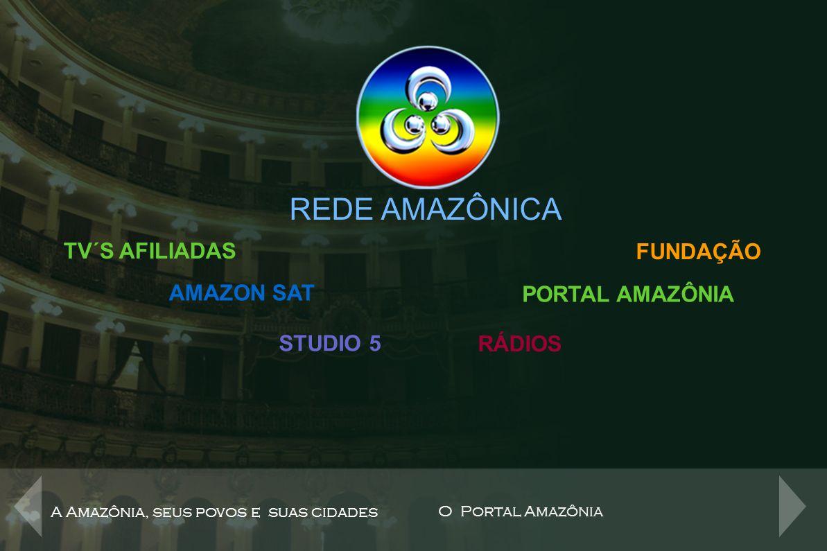 Fundação Rede Amazônica com sede em Manaus e subsedes no Amapá, Acre, Rondônia e Roraima, com cursos na área de comunicação, informática, injeção plástica e artes cênicas.