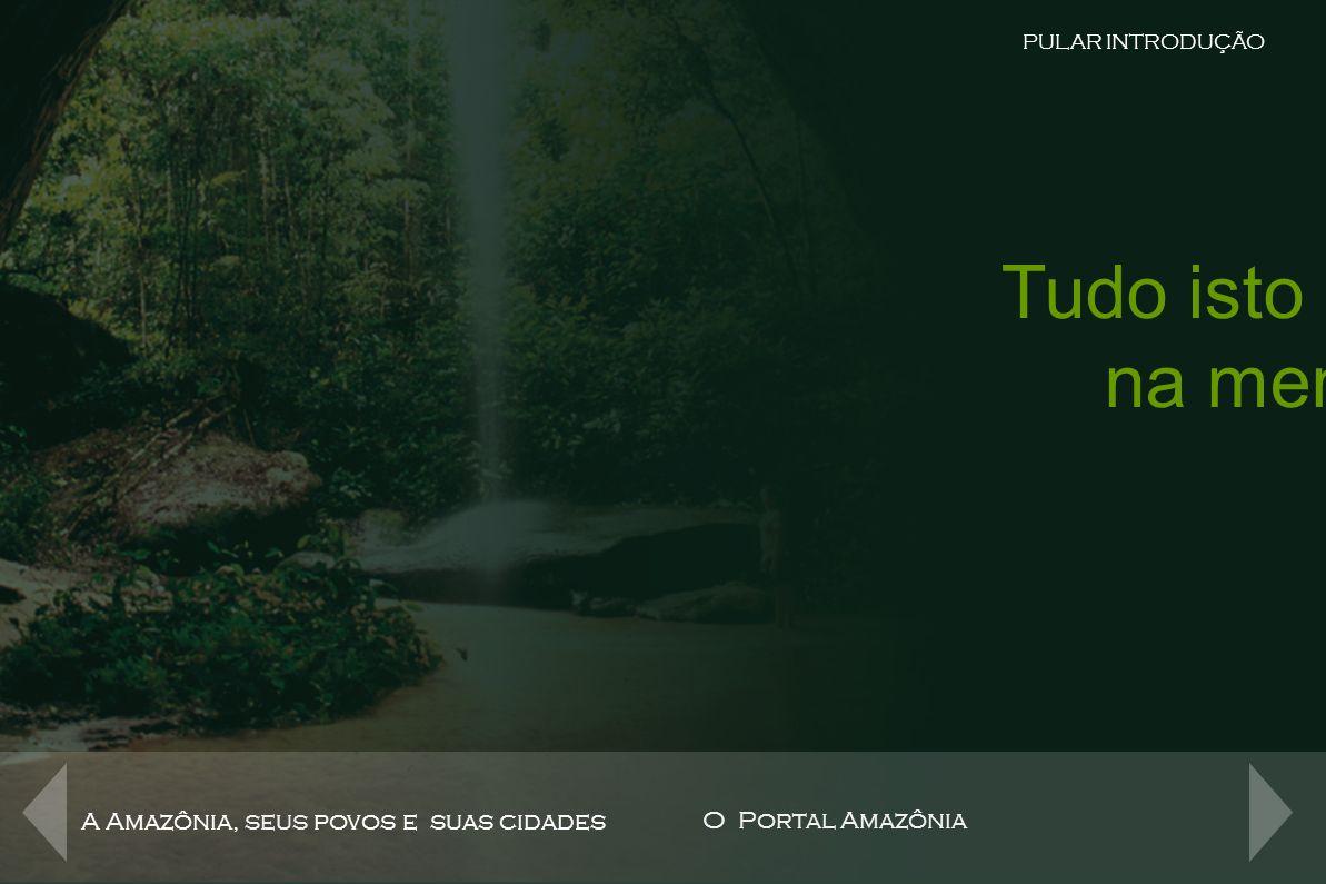 O Portal da Rede Amazônica na Internet A Amazônia, seus povos e suas cidades O Portal Amazônia