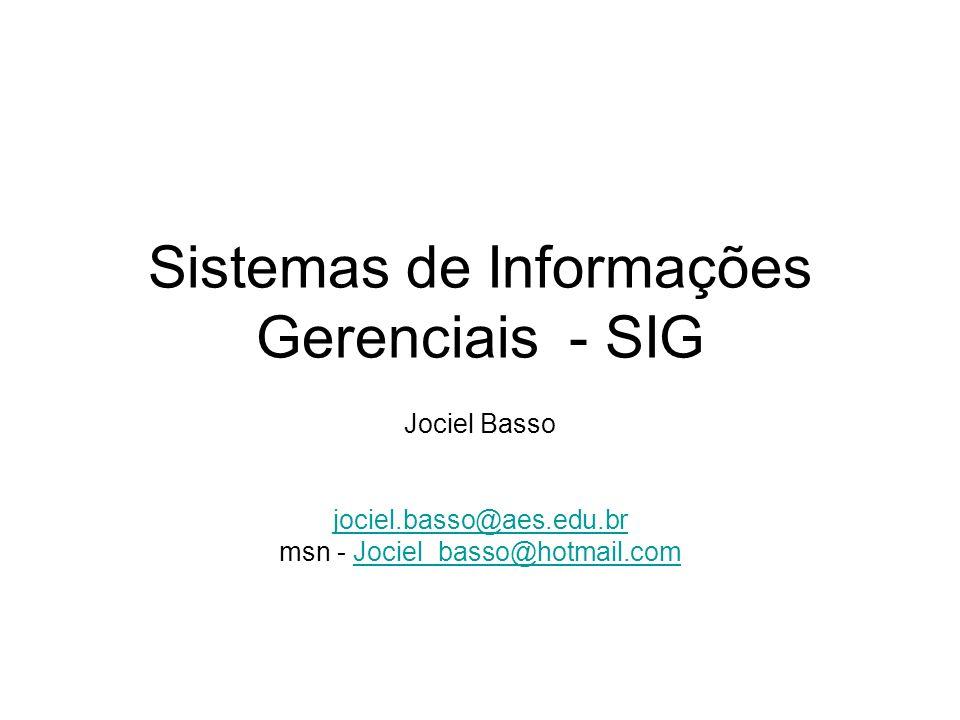 SIG – Macro Ambiente Empresa Fornecedores Cliente Concorrentes Orgãos normatizados