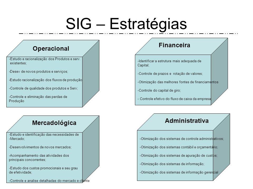 SIG – Estratégias As empresas passam por vários momentos de crise ao longo da sua existência pelo motivo do seu macro ambiente. E nesses momentos de c