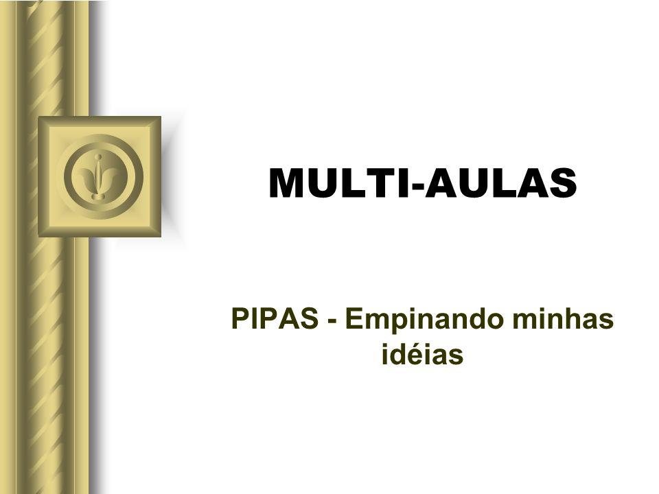 MULTI-AULAS PIPAS - Empinando minhas idéias