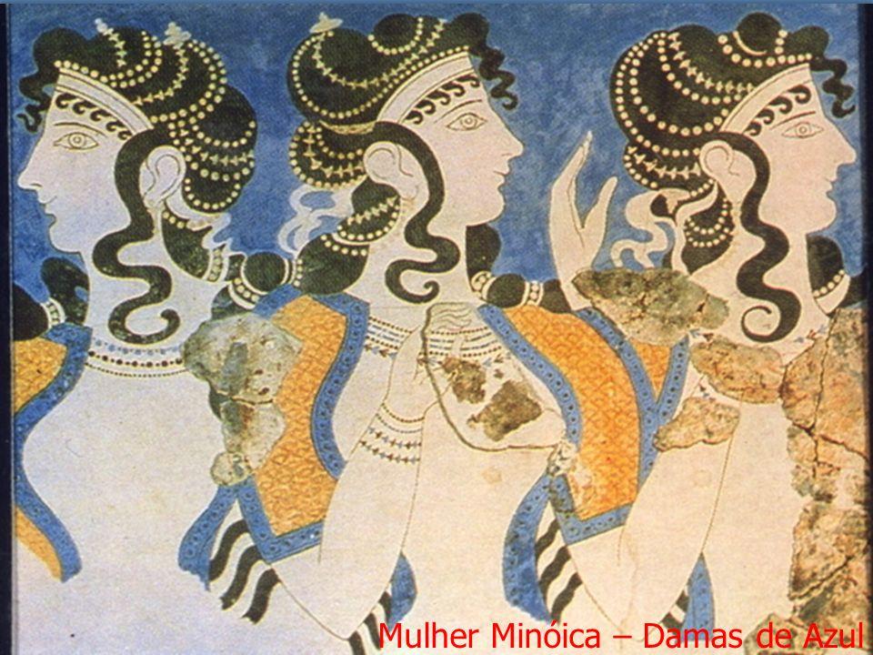 Mulher Minóica – Damas de Azul