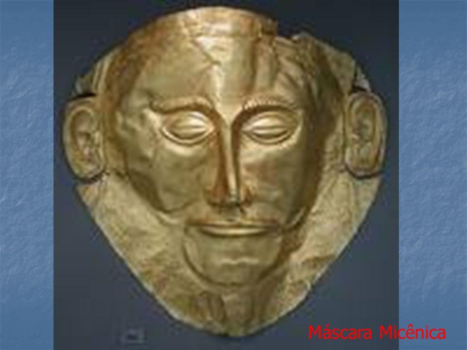 Máscara Micênica