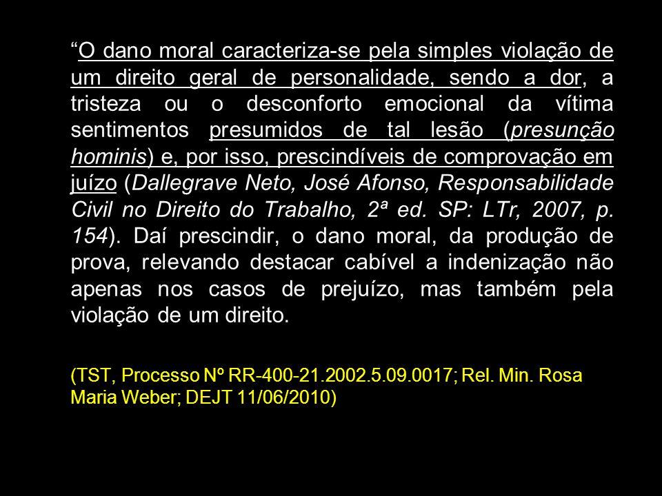 LIQUIDAÇÃO DO DANO: - Dano material: retorno ao status quo ante: - Dano moral: Arbitramento Art.