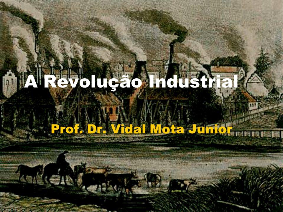 A Revolução Industrial Prof. Dr. Vidal Mota Junior