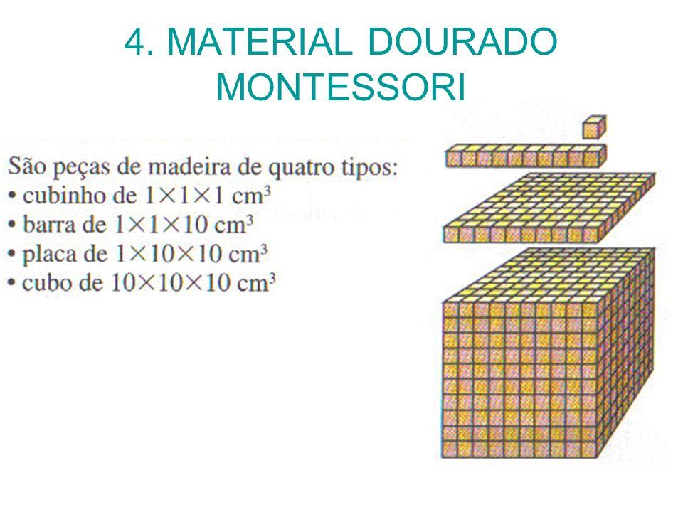 4. MATERIAL DOURADO MONTESSORI