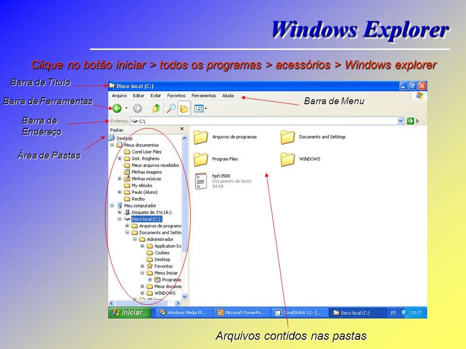 Minimizar = Miniminiza a janela ativa para um botão localizado na barra de tarefas. Maximizar = Amplia a janela ativa para seu tamanho natural, ocupan