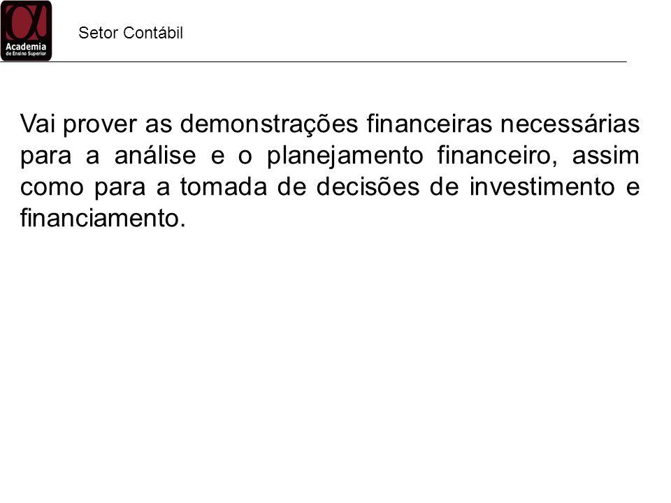 Finanças Analista/Gerente de Crédito Administra a política de crédito da empresa através da avaliação de solicitação de crédito, extensão de crédito, assim como monitoramento e cobrança de contas a receber.