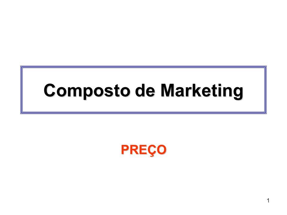 1 Composto de Marketing PREÇO