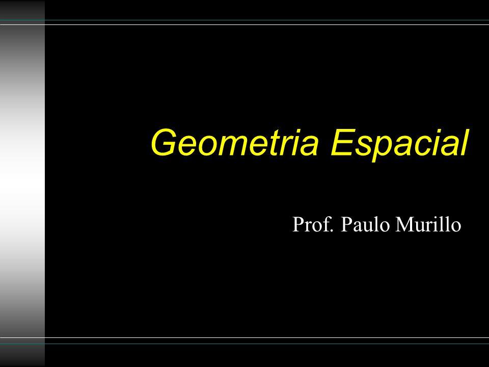 Geometria Espacial Prof. Paulo Murillo