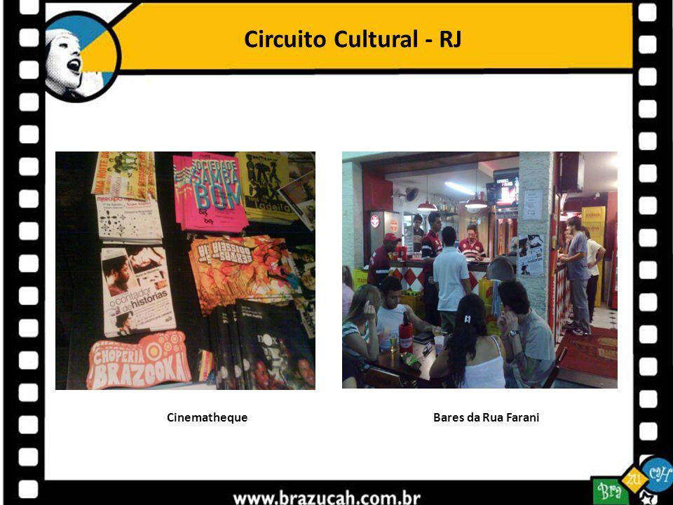 Circuito Cultural - RJ Cinematheque Bares da Rua Farani