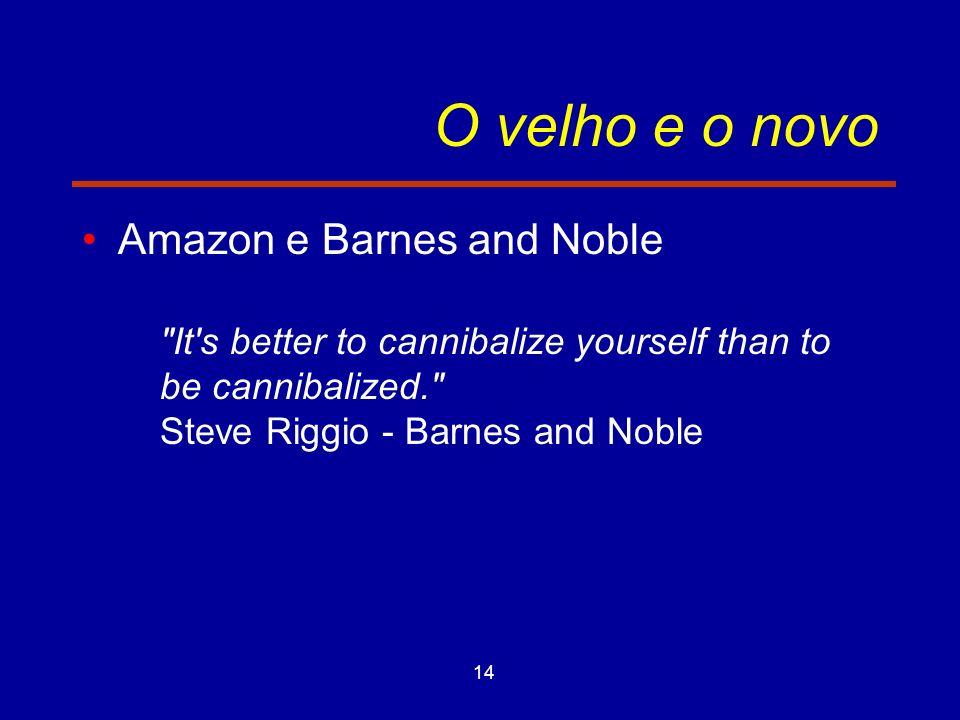 14 O velho e o novo Amazon e Barnes and Noble