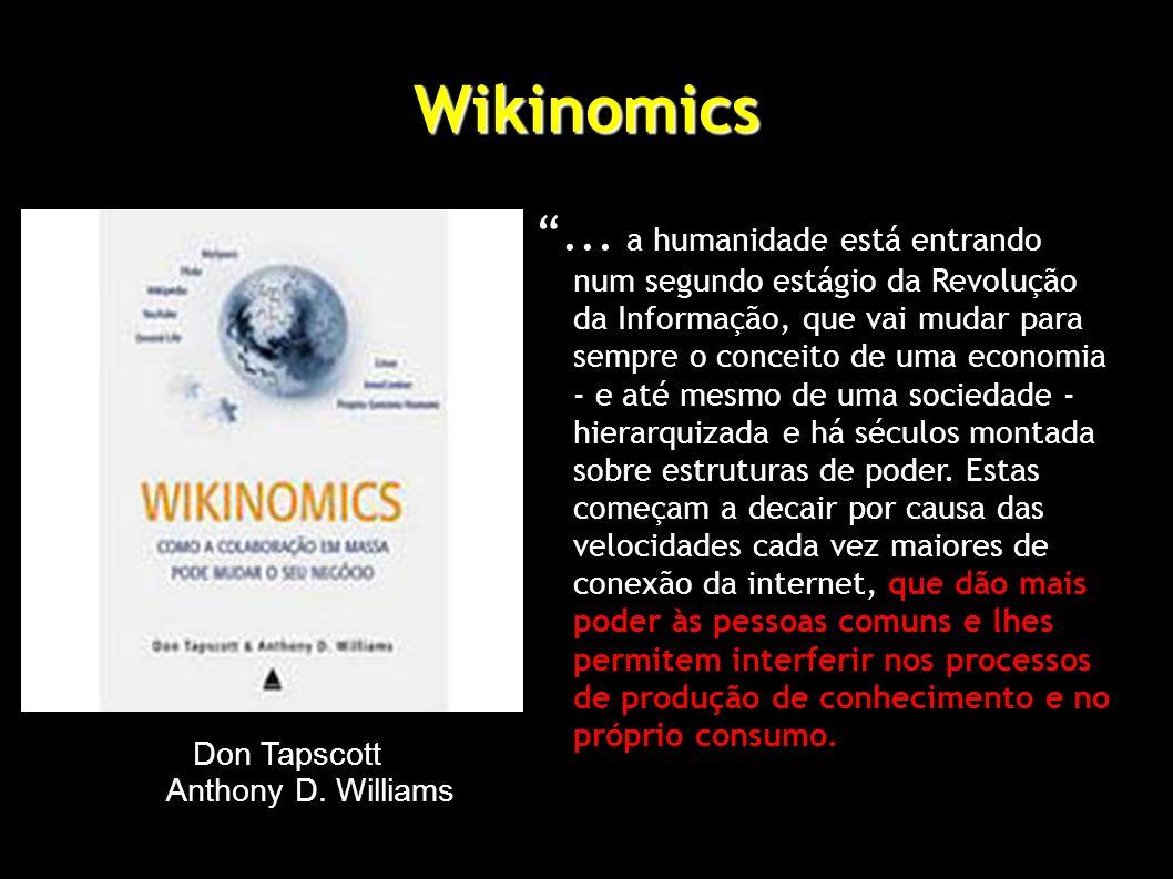 Wikinomics...