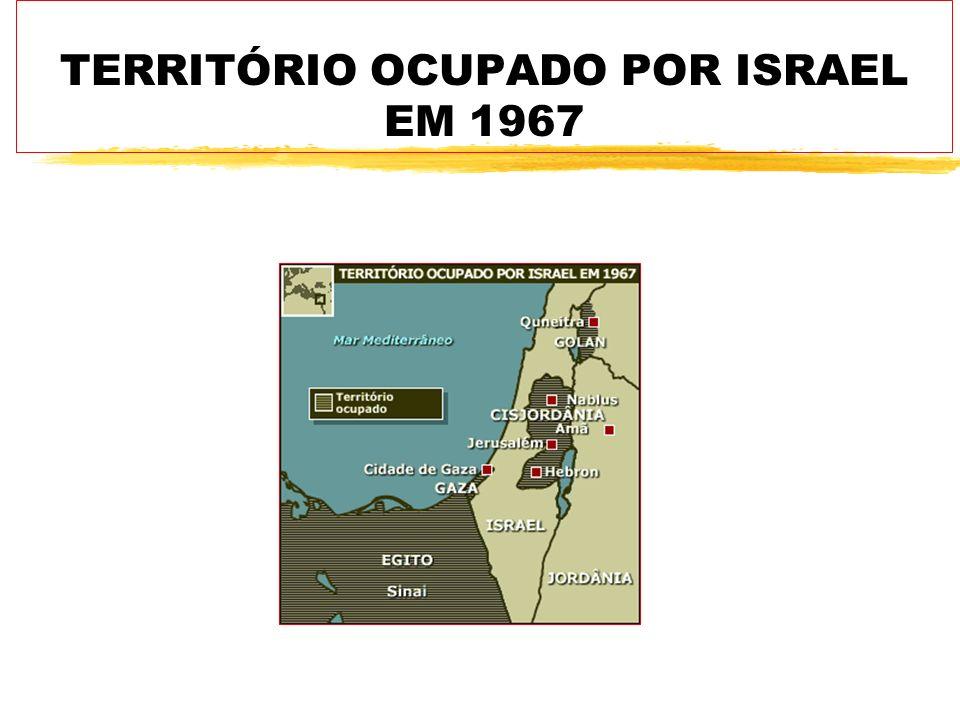 TERRITÓRIO OCUPADO POR ISRAEL EM 1967