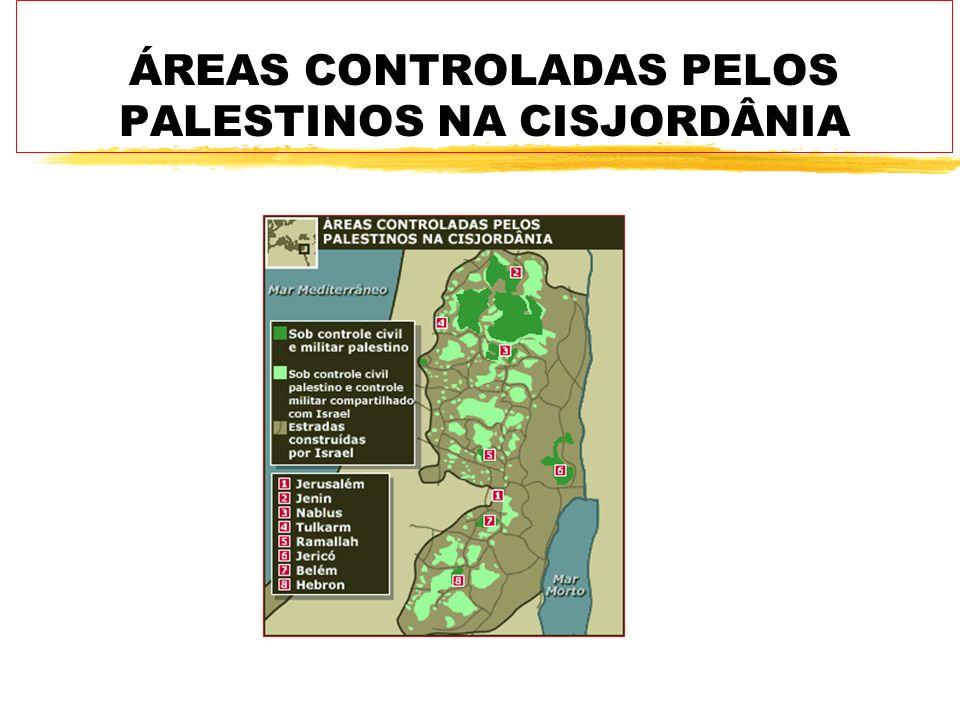 zA Declaração de Princípios de 1993, que surgiu dos acordos de paz assinados em Oslo, na Noruega, prevê a devolução gradual da administração civil e militar da Faixa de Gaza e da Cisjordânia à Autoridade Palestina.