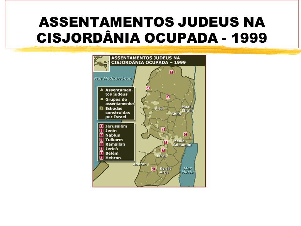 zA Assembléia-Geral da ONU aprovou em 1947 a partilha da Palestina em dois Estados: um árabe e outro judaico.