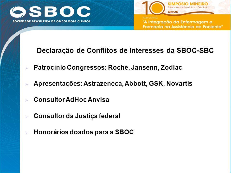 3 Fundada em 1979 Formada por oncologistas clínicos Entidade sem fins lucrativos Título de Utilidade Pública Federal Reúne oncologistas clínicos dos 26 estados brasileiros e Distrito Federal 1100 associados