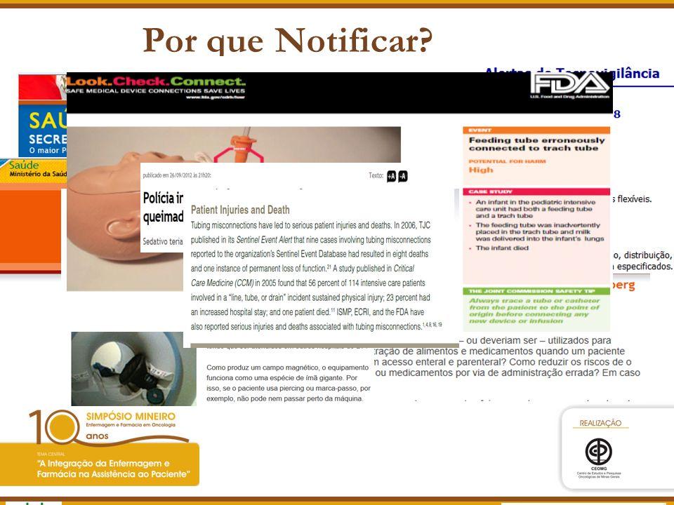 Agência Nacional de Vigilância Sanitária www.anvisa.gov.br Cenário real