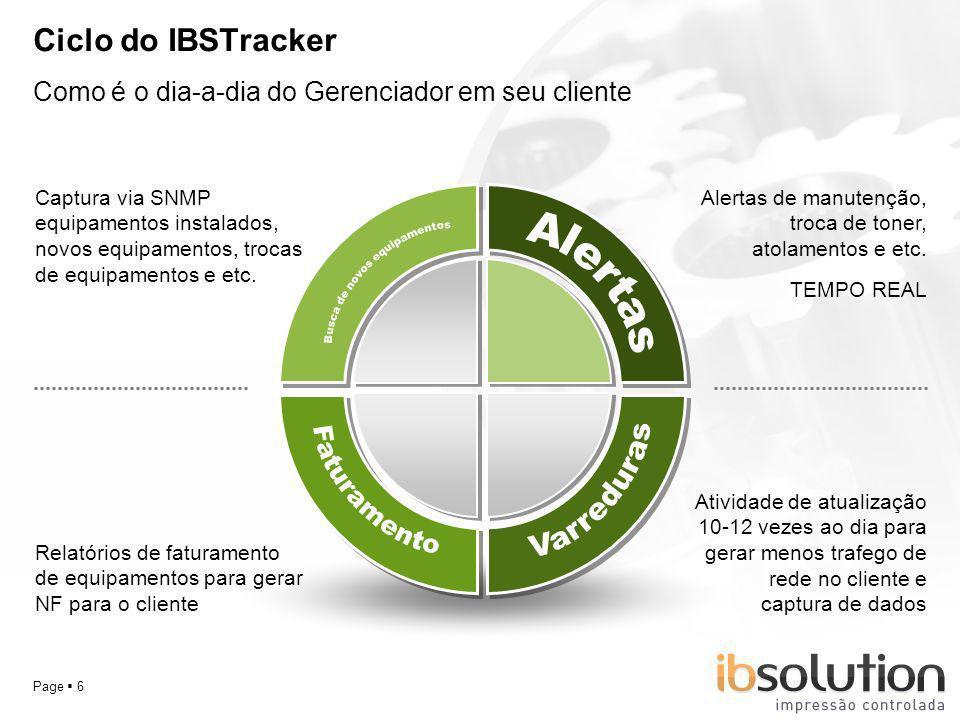 YOUR LOGO Page 17 Perguntas sobre o IBSTracker Qual a diferença entre o IBSTracker e um software de bilhetagem ?.