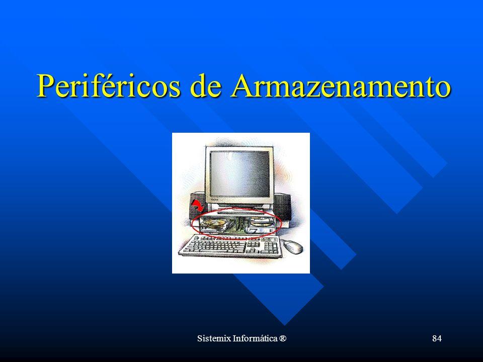 Sistemix Informática ®84 Periféricos de Armazenamento