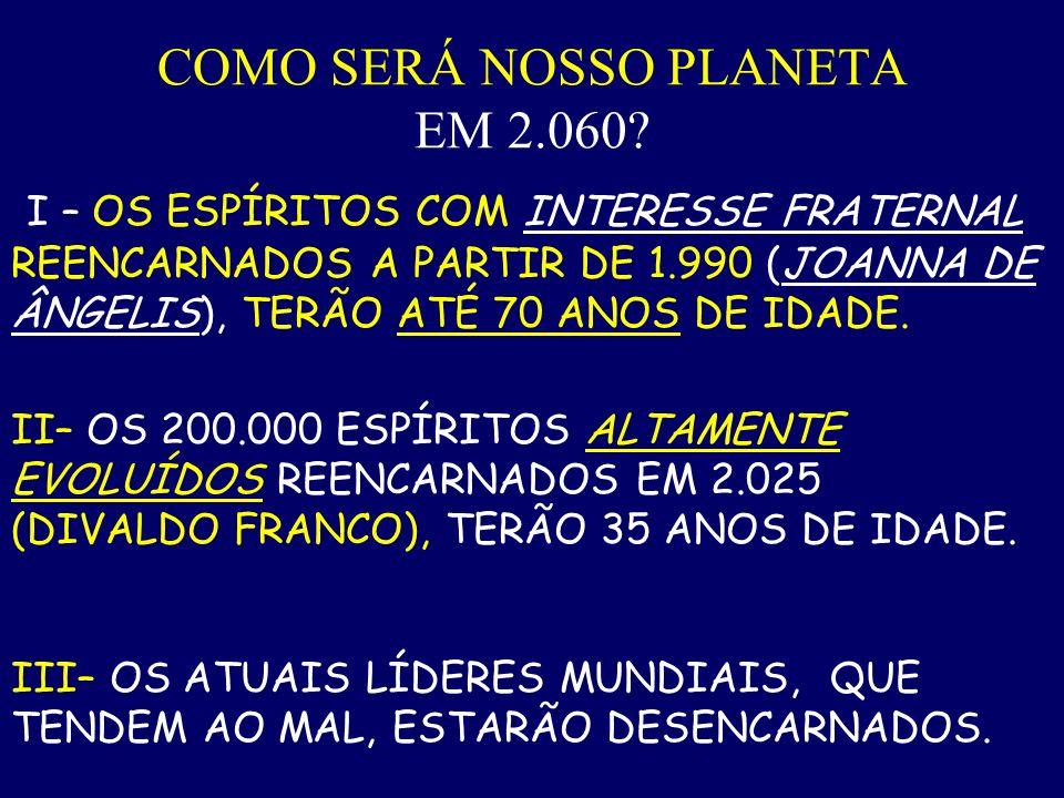 DIVALDO FRANCO: Em 2.025, duzentos mil espíritos altamente evoluídos reencarnarão em nosso planeta. Comentário proferido em palestra pública, no ano d