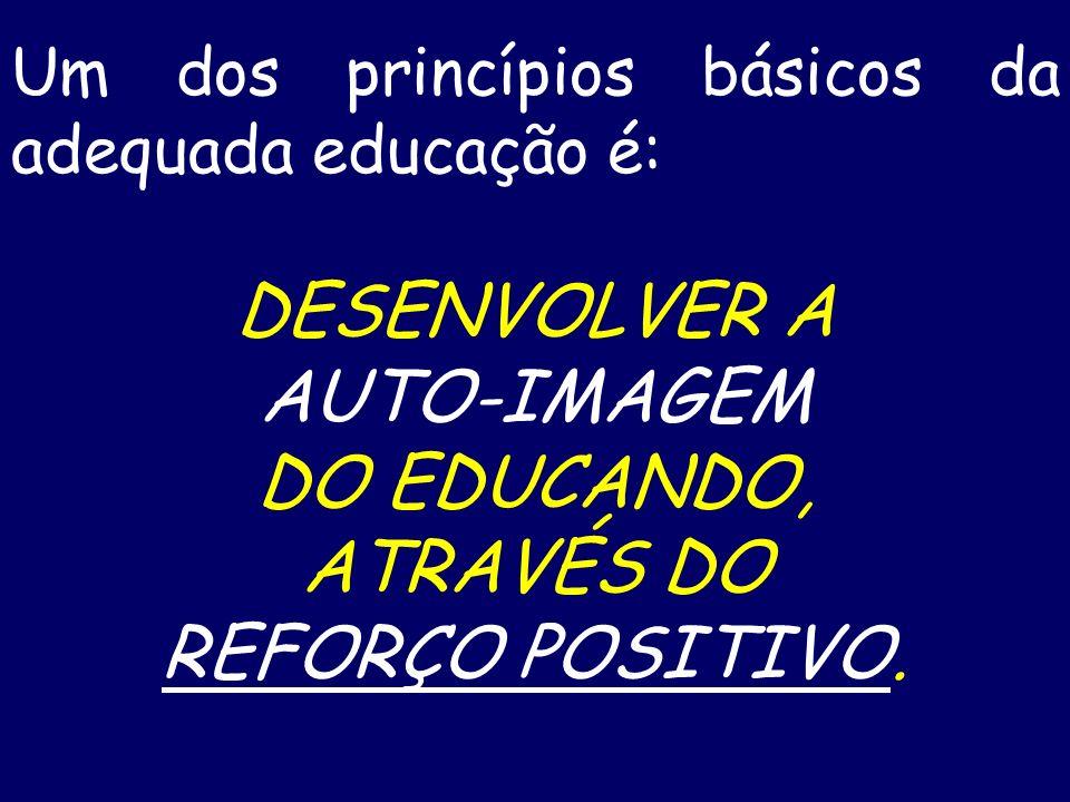 REGRAS BÁSICAS DA EFICAZ COMUNICAÇÃO INTERPESSOAL SEGUNDA: LEI DO REFORÇO POSITIVO