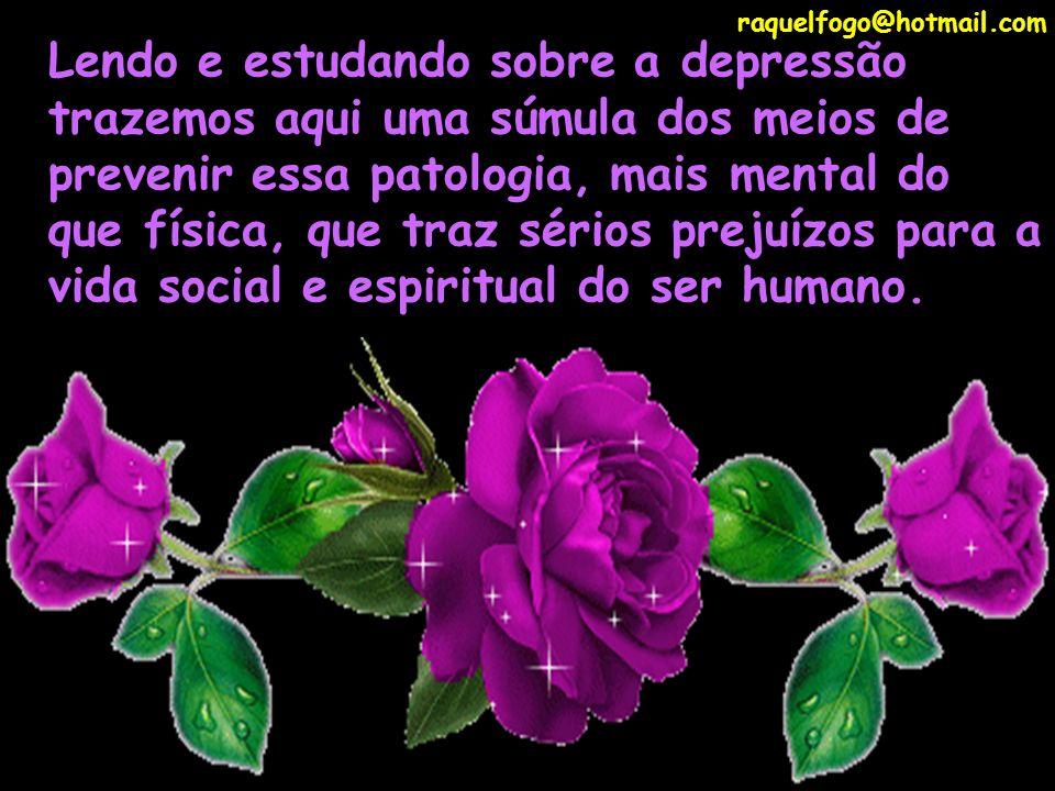 raquelfogo@hotmail.com Vacina contra depressão raquelfogo@hotmail.com