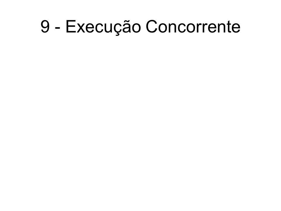 9 - Execução Concorrente