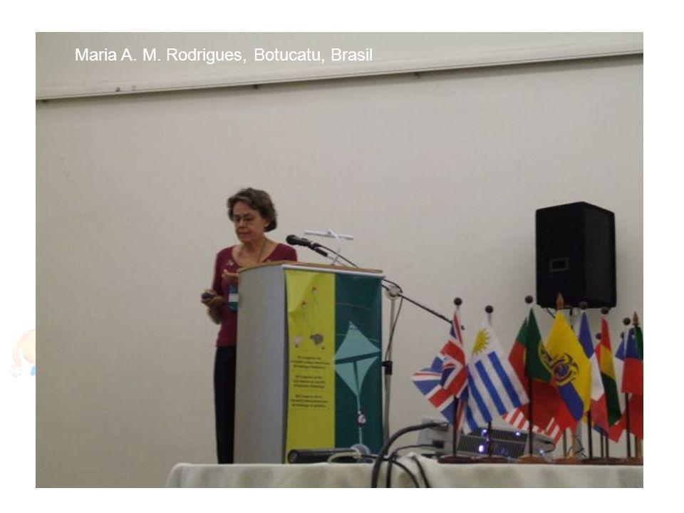 Maria A. M. Rodrigues, Botucatu, Brasil