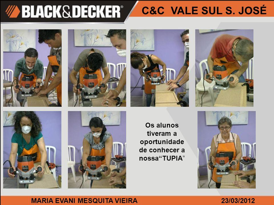 MARIA EVANI MESQUITA VIEIRA23/03/2012 C&C VALE SUL S.
