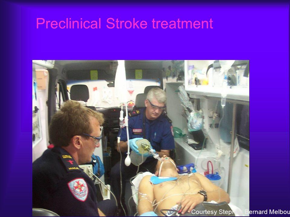 Preclinical Stroke treatment Courtesy Stephen Bernard Melbourne