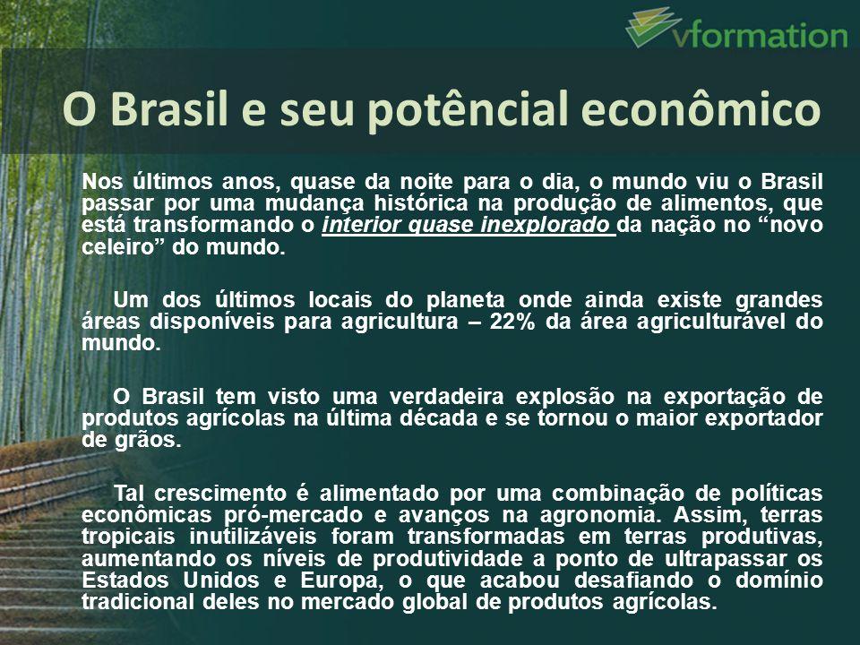 Nos últimos anos, quase da noite para o dia, o mundo viu o Brasil passar por uma mudança histórica na produção de alimentos, que está transformando o