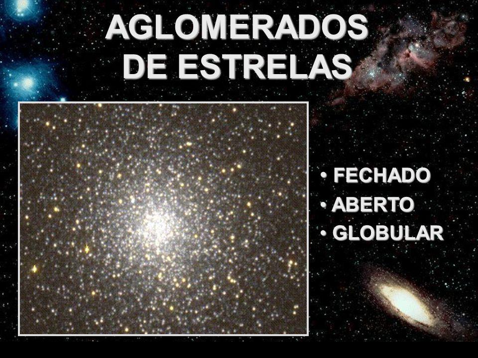 FEDERAÇÃO ESPÍRITA DO ESTADO DO CEARÁ AGLOMERADOS DE ESTRELAS FECHADO FECHADO ABERTO ABERTO GLOBULAR GLOBULAR