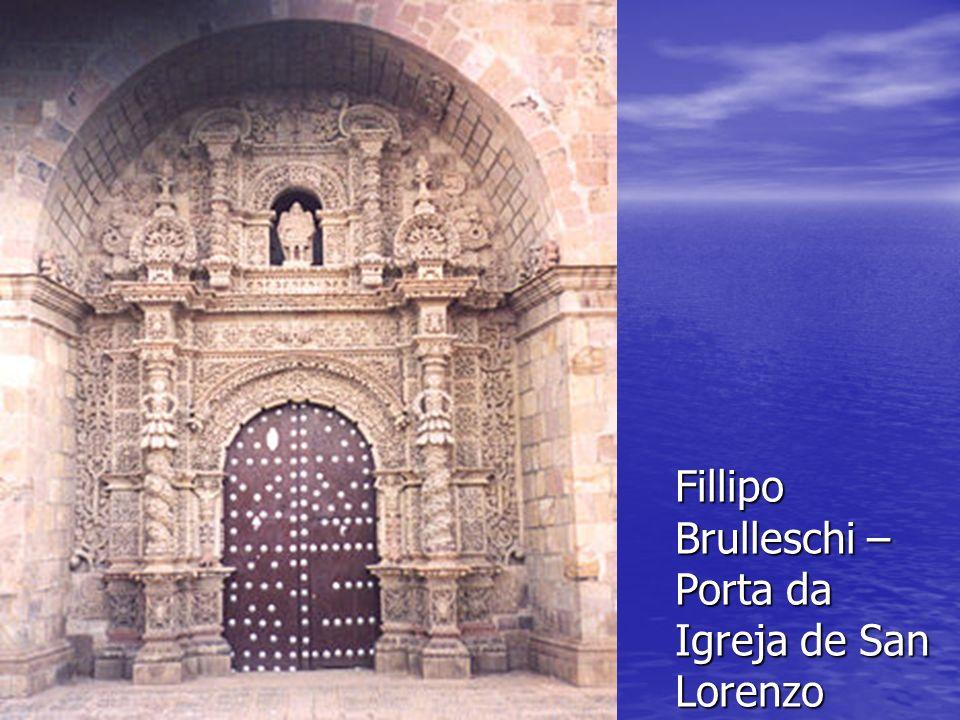 Fillipo Brulleschi – Porta da Igreja de San Lorenzo