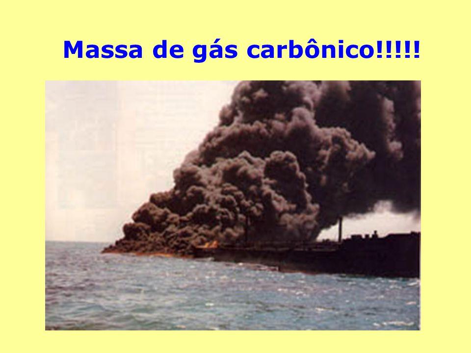 Massa de gás carbônico!!!!!