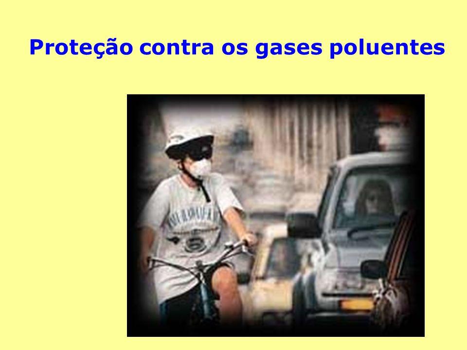 Proteção contra os gases poluentes
