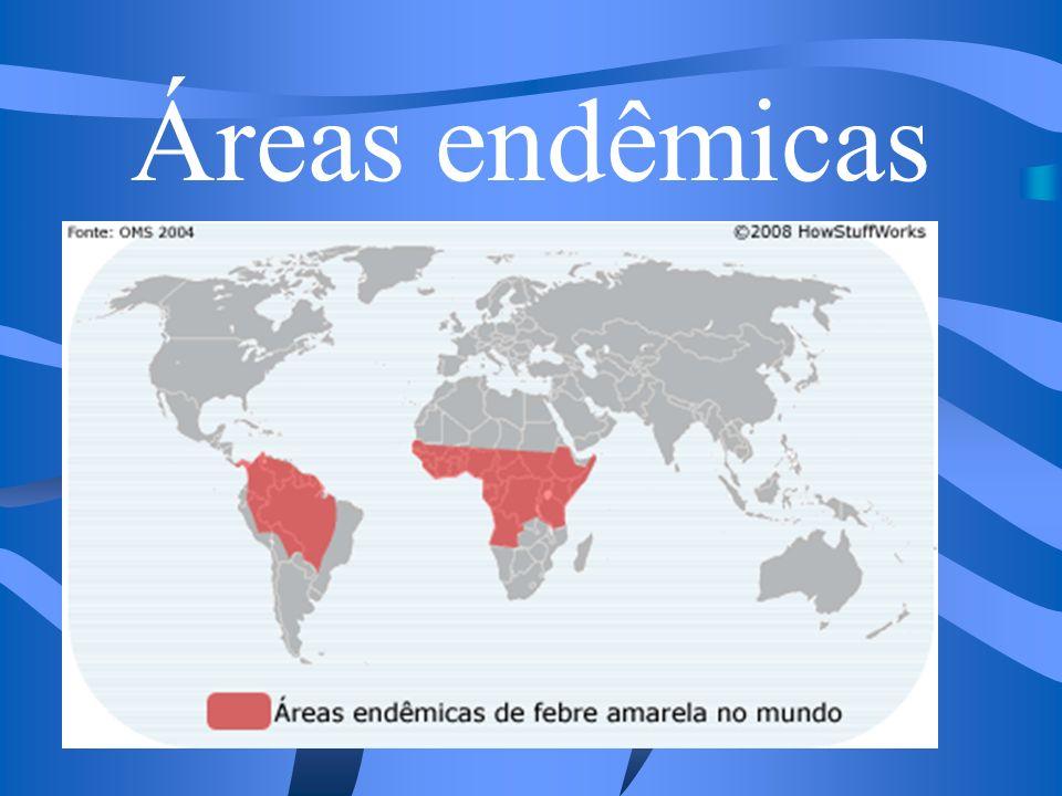 Áreas endêmicas