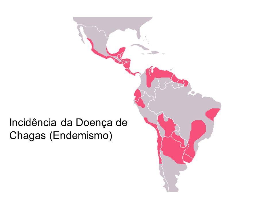 Incidência da Doença de Chagas (Endemismo)