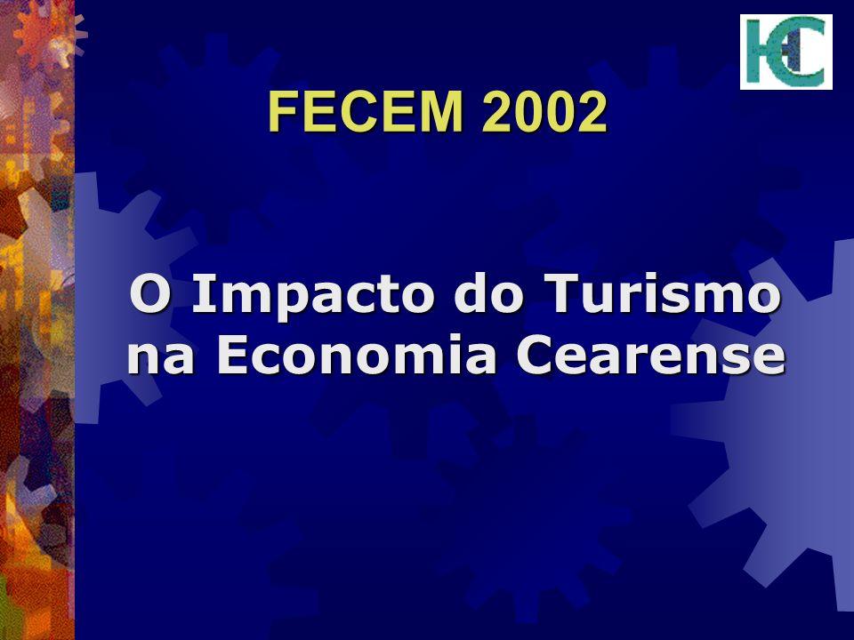 FECEM 2002 O Impacto do Turismo na Economia Cearense